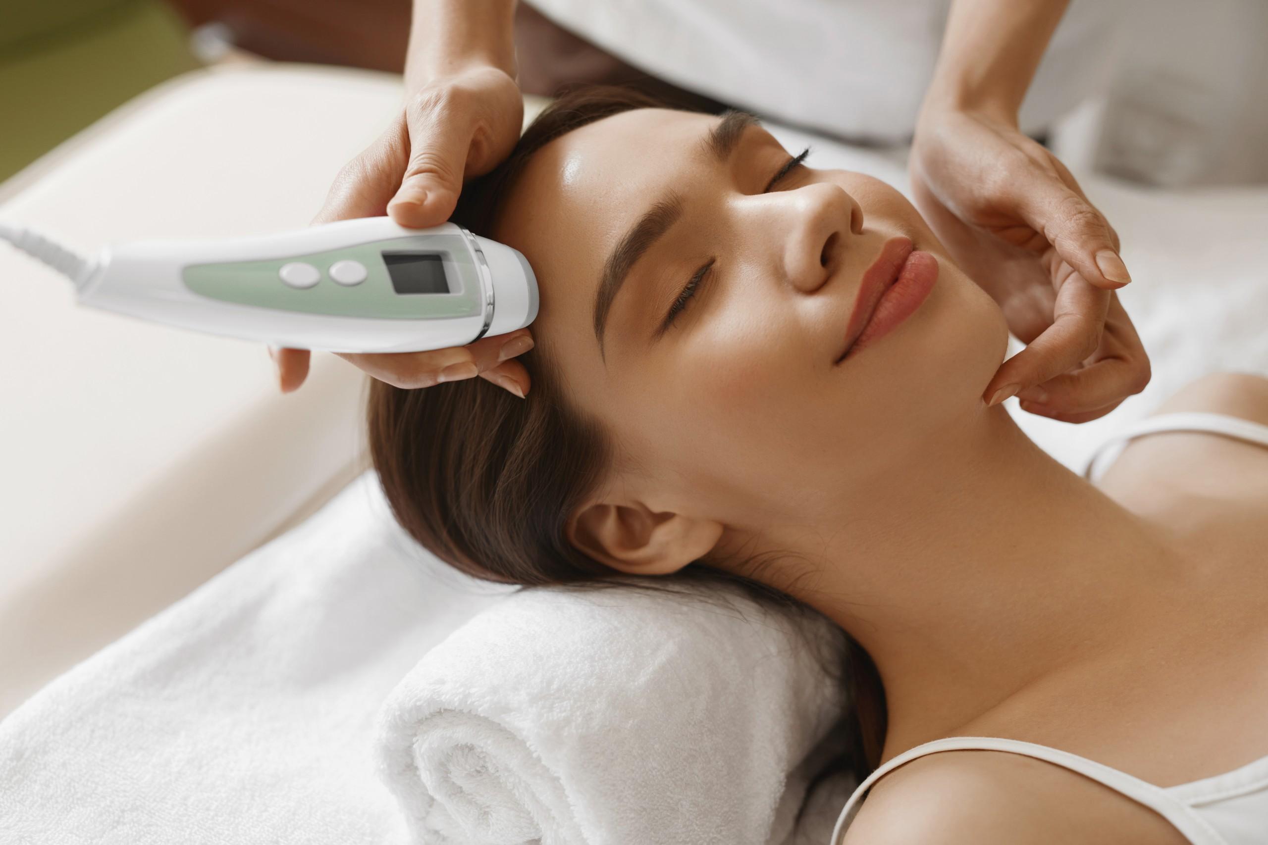 woman-recieving-facial-treatment
